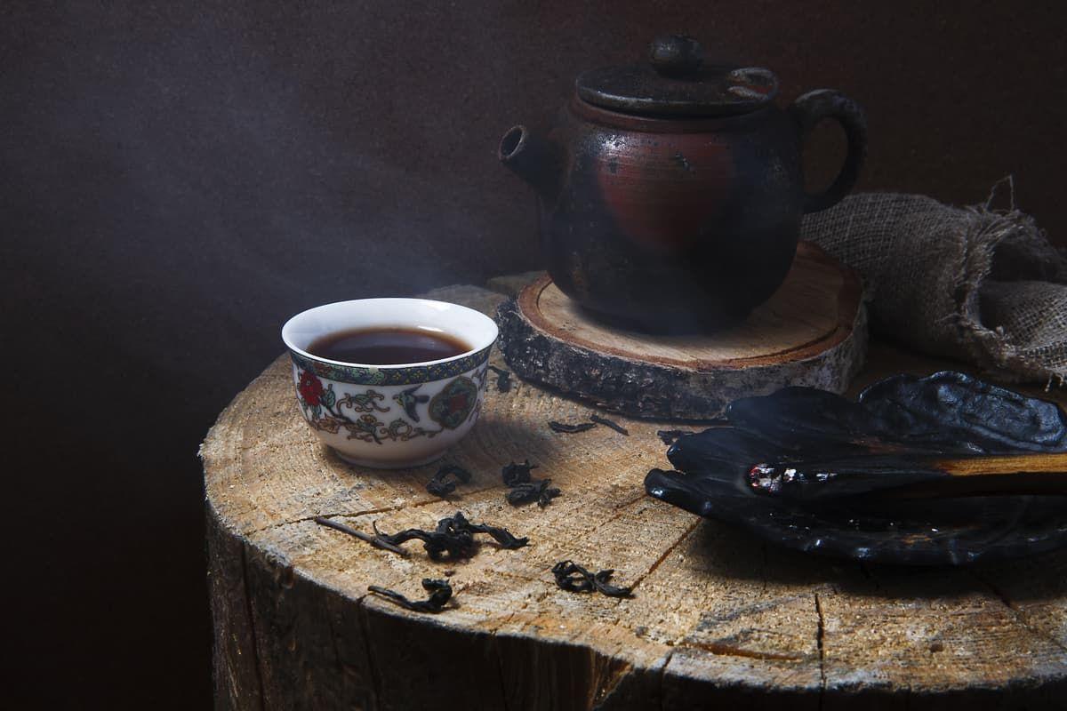 что содержится в черном чае