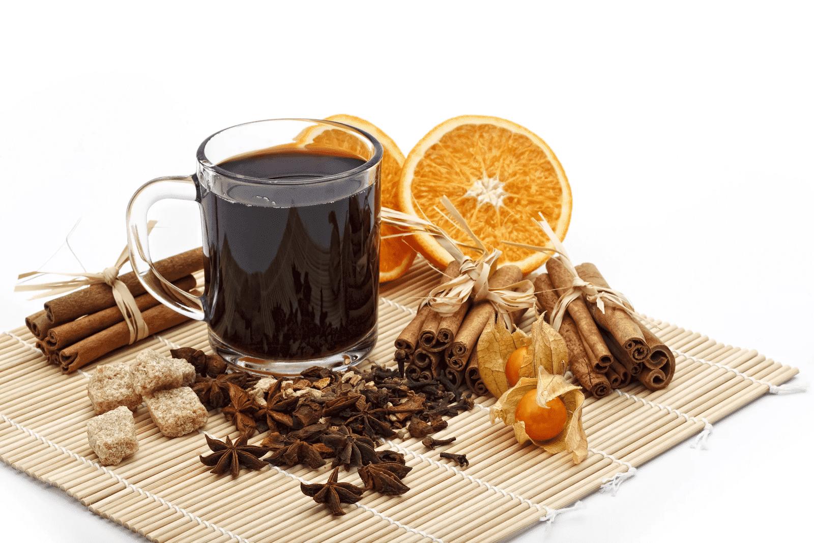 Обои клюква, Заварник, мёд, чай. Еда foto 5