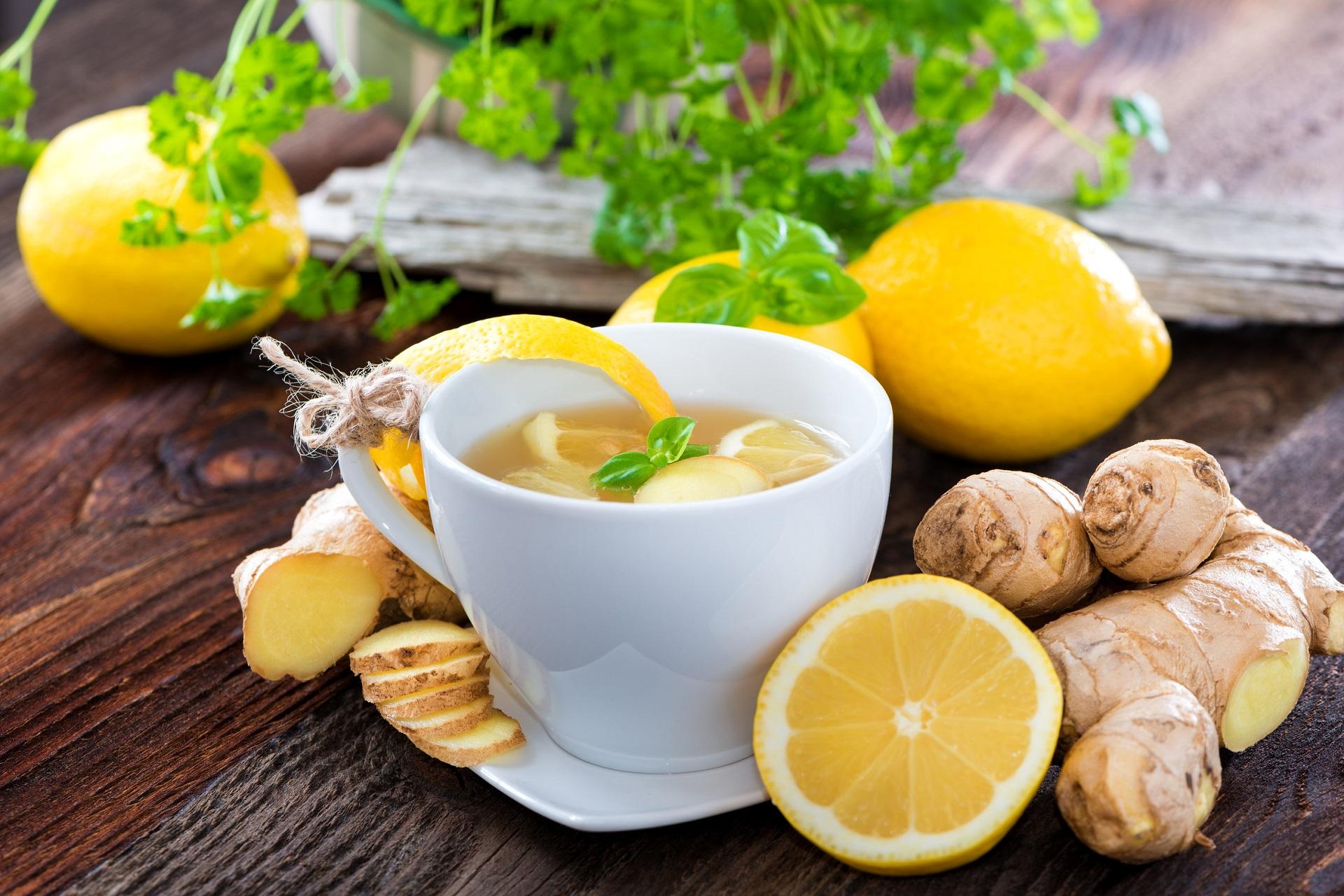 мед лимон и имбирь